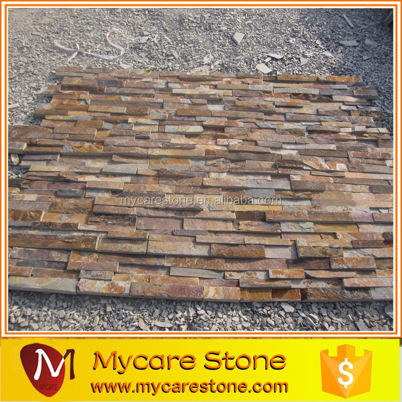 Yellow Slate Exteriro Slate Wall Cladding Stack Stone Buy Stack Stone Exterior Slate Wall