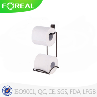 hanging metal wire toilet paper stand