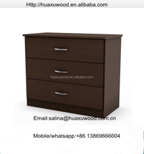 Contemporary 3 Drawer Chest, in Kids' Armoires, Chests & Dressers in Dark Chocolate