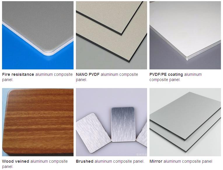White Aluminum Composite Panel : Ivory white pe jhed aluminum composite panel acp acm