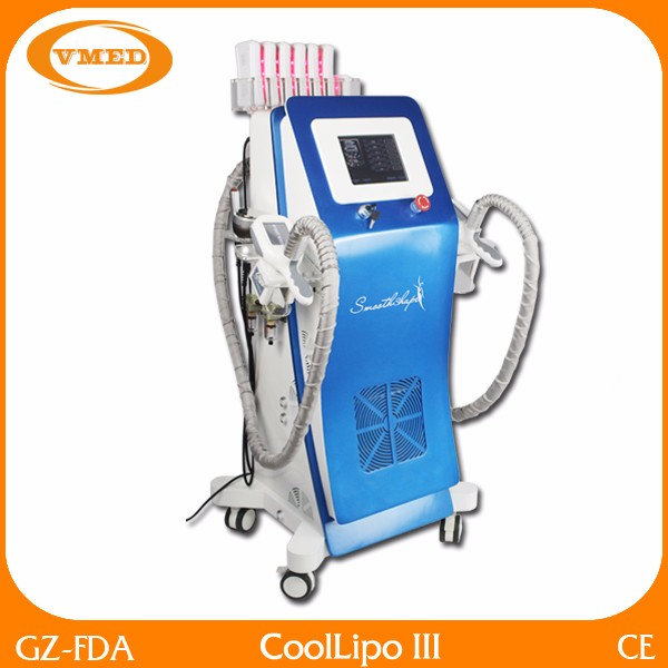 Newest Slimming Cryolipolysie Liposuction Cool Tech Fat Freezing Machine