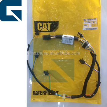222 5917 C7 fuel injector wire harness_350x350 222 5917 c7 fuel injector wire harness for cat excavator buy 222 cat c7 injector wiring harness at gsmx.co