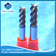 Wholesale solid tungsten carbide 2/4/6 flute end mill cutter/end mills/ router bit for milling from factory
