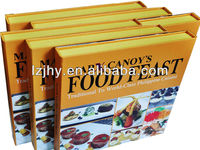 Ultimate everyday cook book, quality hardcover recipe book printing service