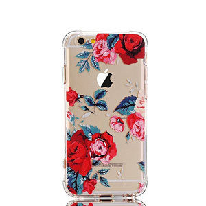 Factory price smart phone case 3d floral for iphone 7 phone case