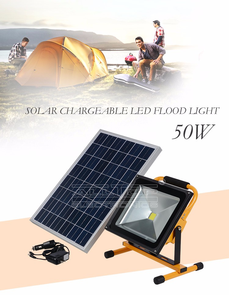 Outdoor 10w 20w 30w 50w ip65 waterproof gas station cob solar led flood light in pakistan