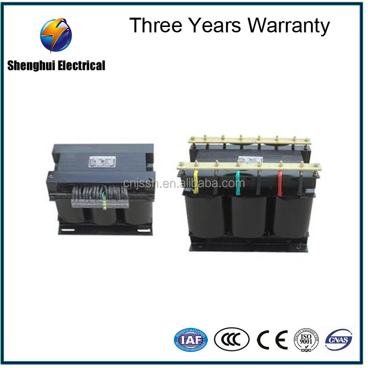 Three-phase step dow & step up control isolation transformer380V to 220V SBK(SG)-1000VA machine tool control transformer