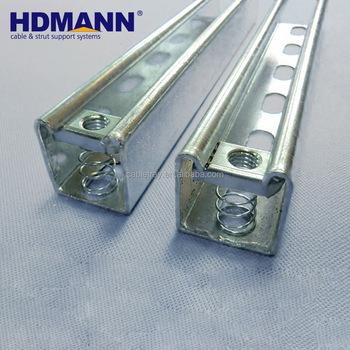 Hdmann Hot Selling Galvanized U Beam Strut Steel C Channel U Channel Price  - Buy Steel C Channel,Strut Channel,C Channel Product on Alibaba com