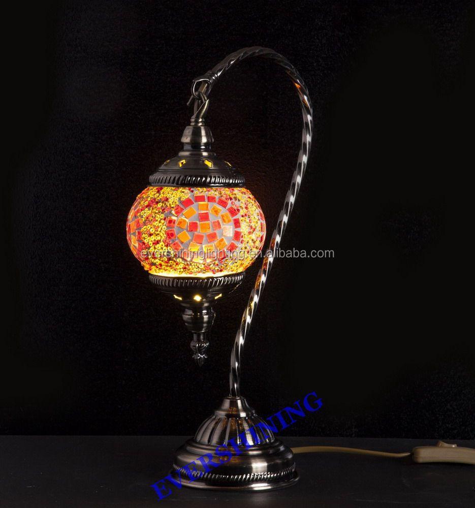 Latest evershining lighting hotsale yma403 handmade turkish latest evershining lighting hotsale yma403 handmade turkish inspired swan table lamp mosaic moroccan lamps wholesale geotapseo Gallery