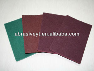 high quality cleaning abrasive pad nylon scouring pad in roll
