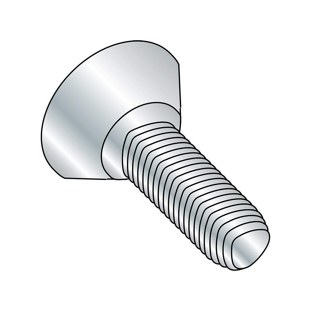 Undercut 82 degrees Flat Head 1//2 inches Length Phillips Drive #8-18 Thread Size Pack of 100 Zinc Plated Steel Self-Drilling Screw #2 Drill Point
