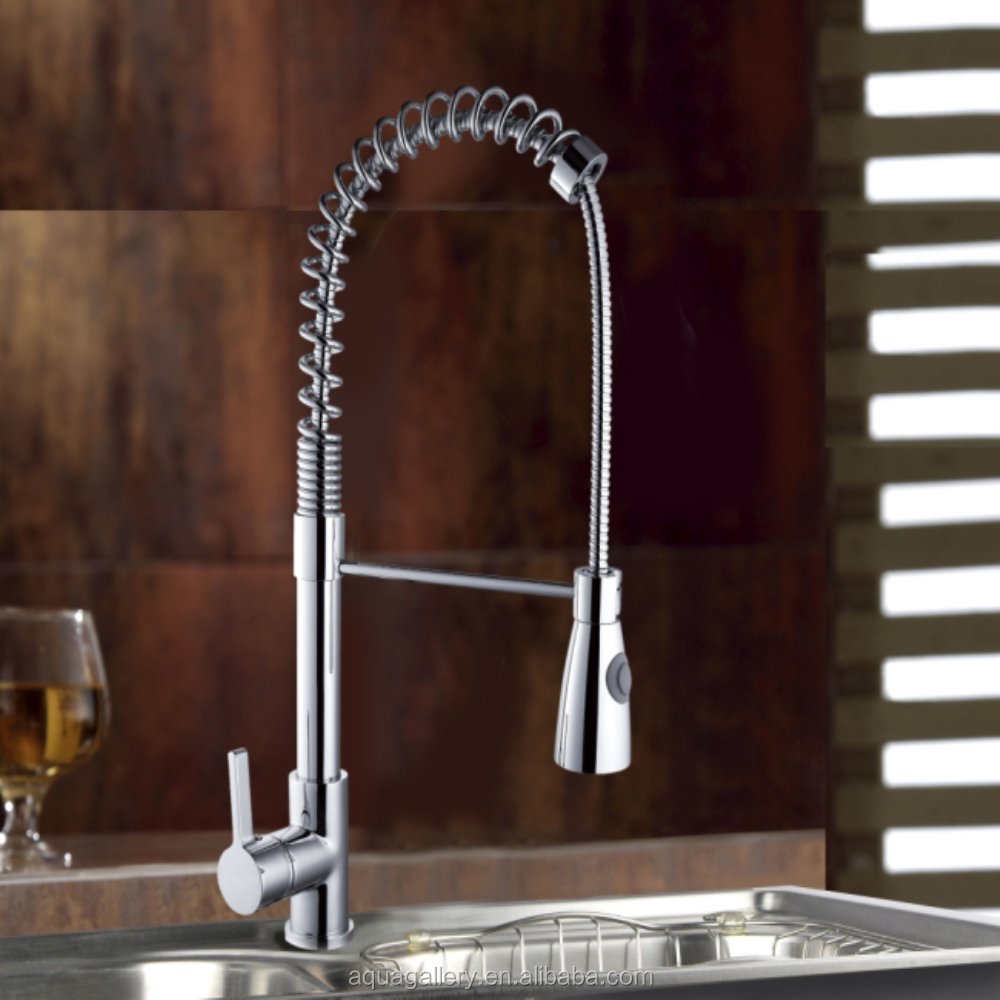 Spring Loaded Kitchen Sink Mixer Tap Faucets, Spring Loaded Kitchen ...