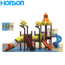 plastic slide outdoor playground equipment castle style children outdoor playground equipment