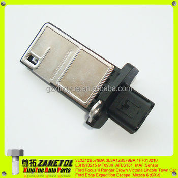 3l3z12b579ba 3l3a12b579ba 1f7013210 L3h513215 Maf Mass Air Flow Sensor For Ford Focus Ii Ranger Crown Victoria Lincoln Town Car Buy Mass Air Flow
