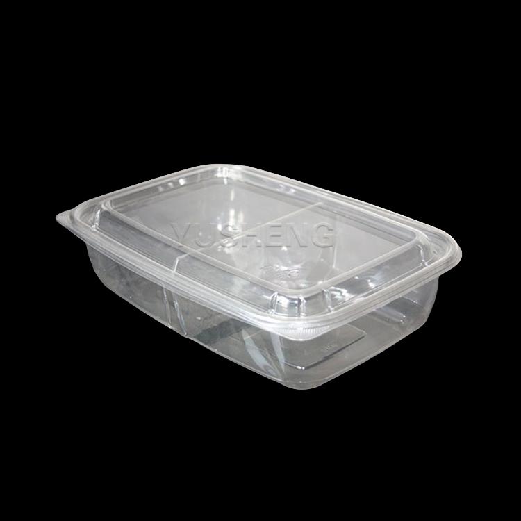 Personalizzato a forma di nuovi prodotti due-parte di plastica trasparente al dettaglio imballaggio
