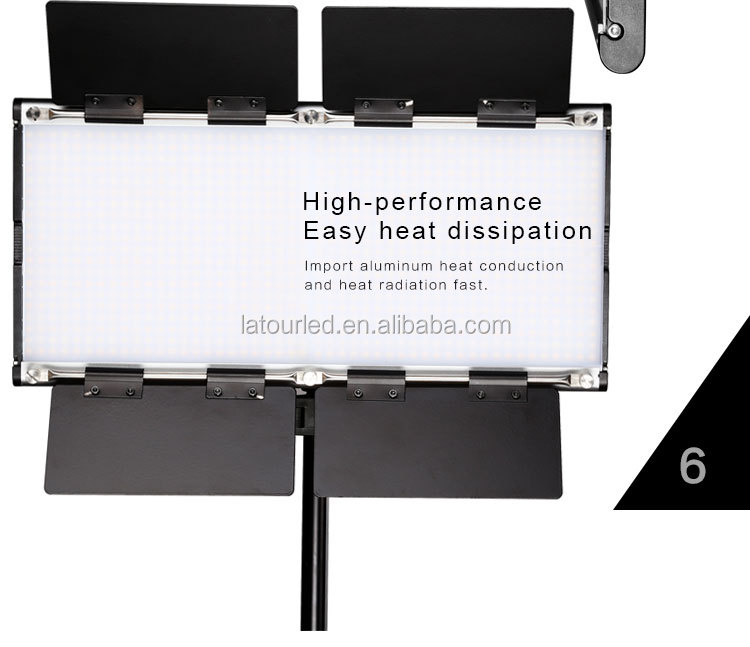 Brand Name Studio Led Panel Light 1500 Bulbs Bi-color Cri 90 ...