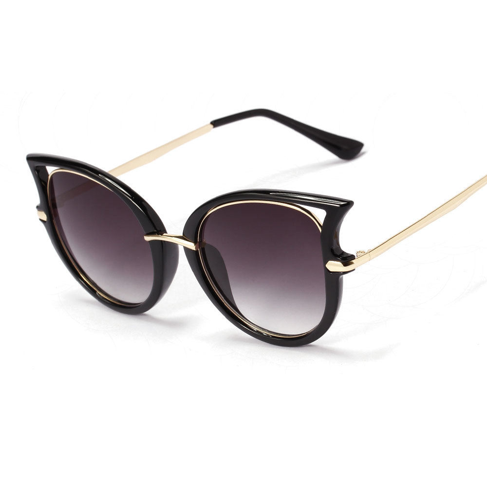 fe8967a148b39 Compre Dita Von Teese Cat Eye Óculos De Sol Do Quadro Do Metal ...