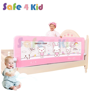 Hot Selling Aluminum Alloy Foldable Baby Security Bed Safety Side Guard Rail