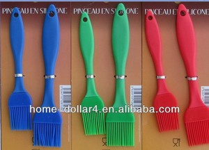2PC CUSTOMIZABLE KITCHEN TOOL BASTING BRUSH SILICON BRUSH