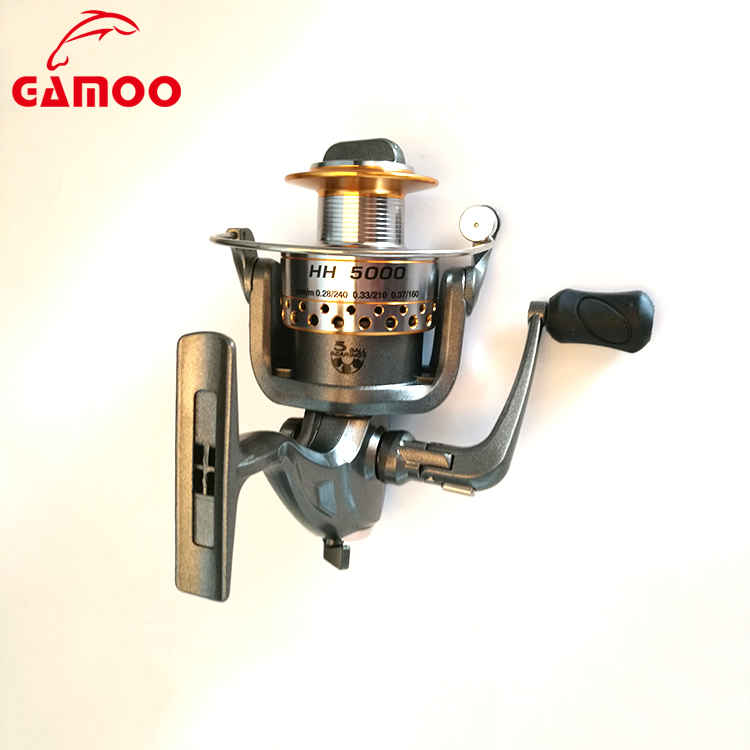 New Style Metal Reel 5 Ball Bearings Spinning Fishing Reel
