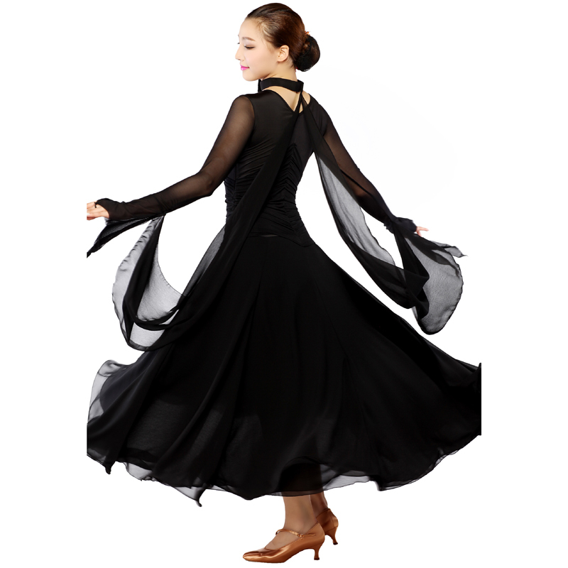 3899a7ddce93b Buy standard ballroom dress black/red ballroom dancing dresses china 2014  new dancer singer costumes free shipping in Cheap Price on m.alibaba.com