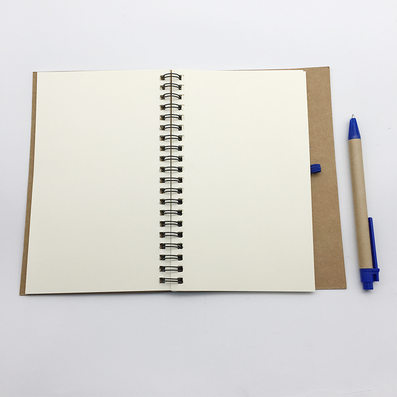 Factory directly sell paper board cover spiral notebook with Long Service Life