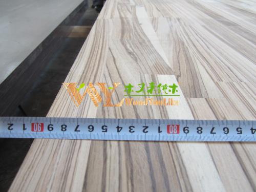 cocina de madera encimeras de madera maciza de partes de muebles de madera zebrano