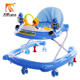 Cute design toy car baby walker musical with 7 silicone wheels
