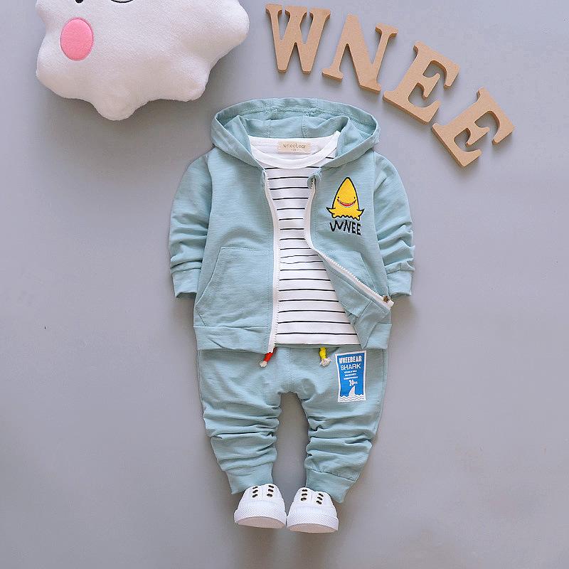 3077b21280490 تركيا الجملة الشهيرة العلامة التجارية الأطفال ملابس الاطفال الفتيان الخريف  3 قطع مجموعة ملابس