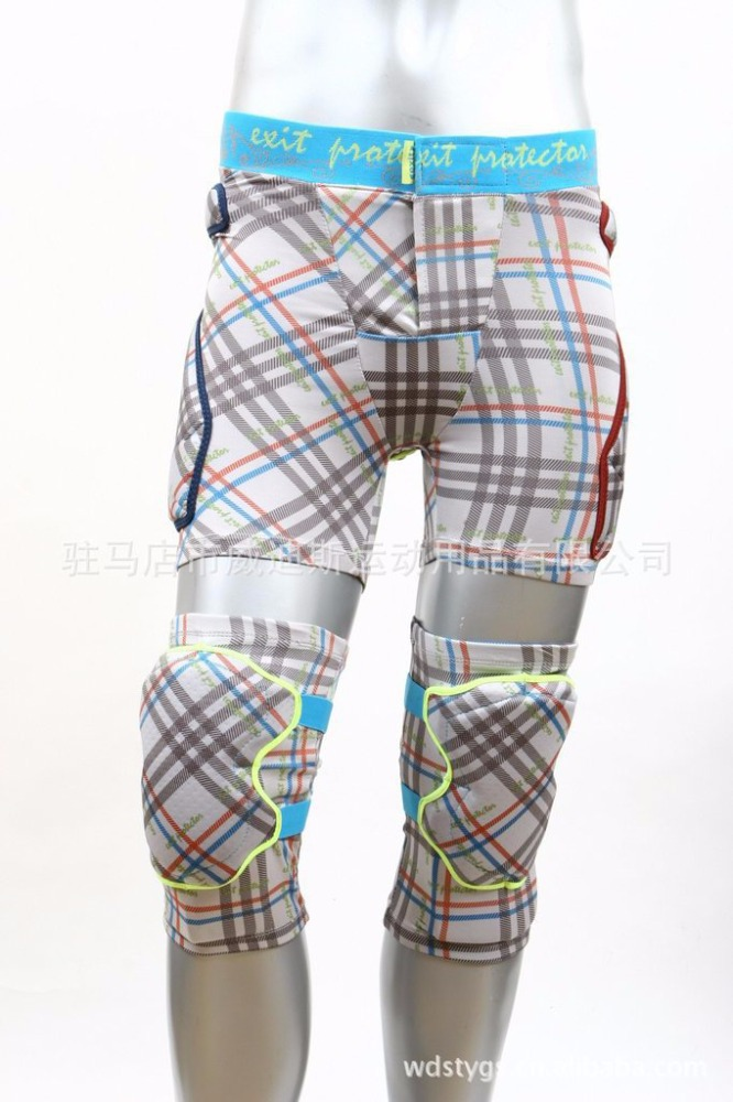 Wesdi Wholesale Skiing Short Pant with Knee Pad