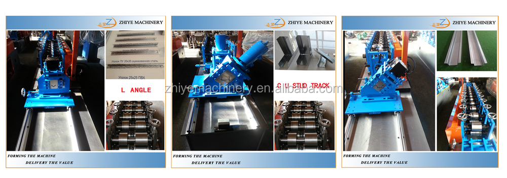 High Quality Gutter Downspout Roll Forming Making Machine