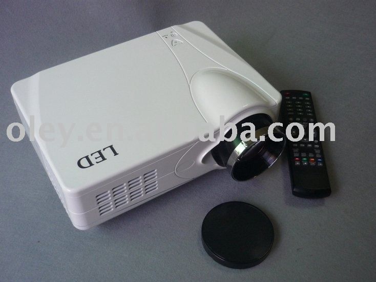 2200 lumens led projector for home cinema