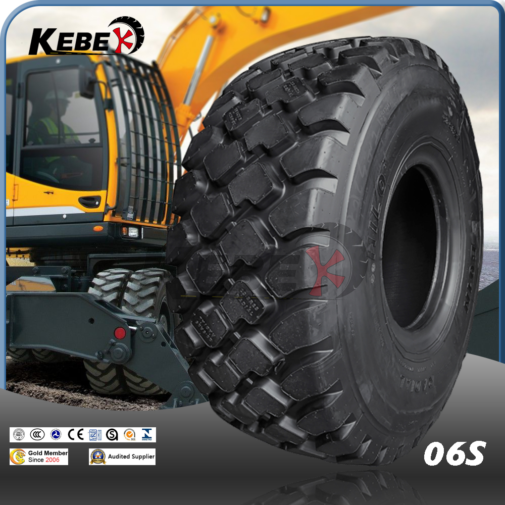 KEBEK brand 18.00r33 tire for rigid dumpers with wear resistance