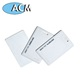 Manufacturer contactless 125khz rfid EM Clamshell card for Employee Plastic smart ID Proximity card