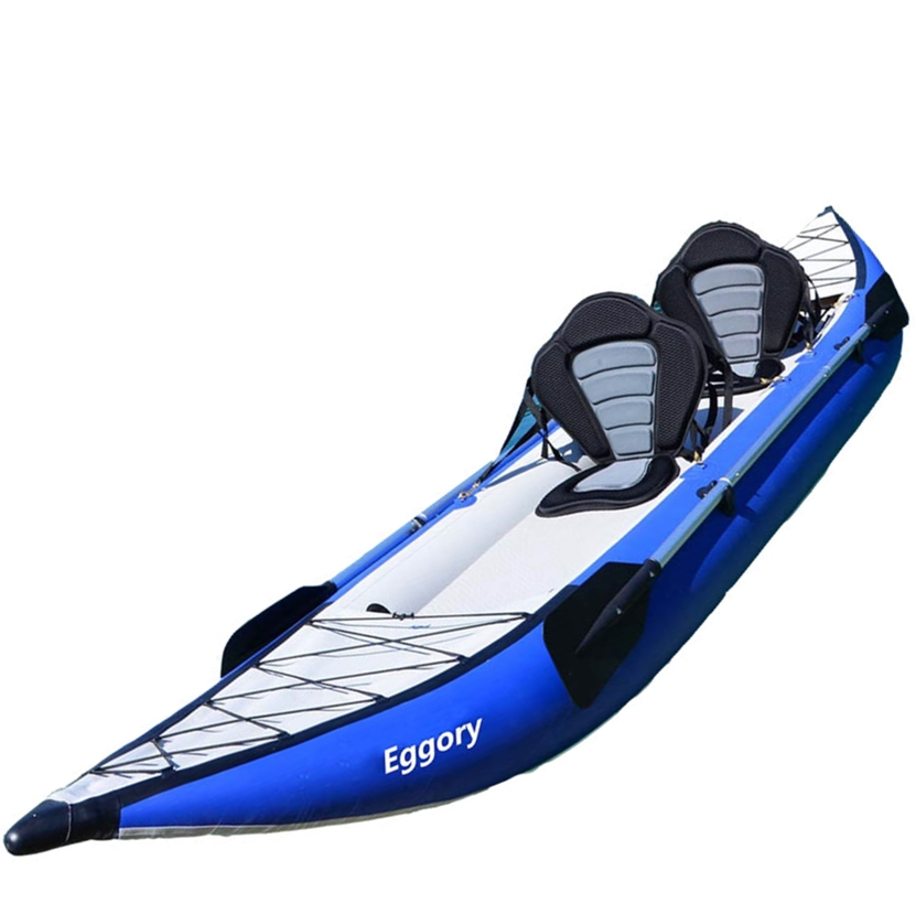 wholesale PVC pontoon kayak 2 persons inflatable fishing <strong>boat</strong>