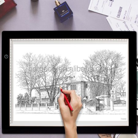 "17.7"" Extra Thin LED Animation Drawing Tracing Stencil Board Table Panel"
