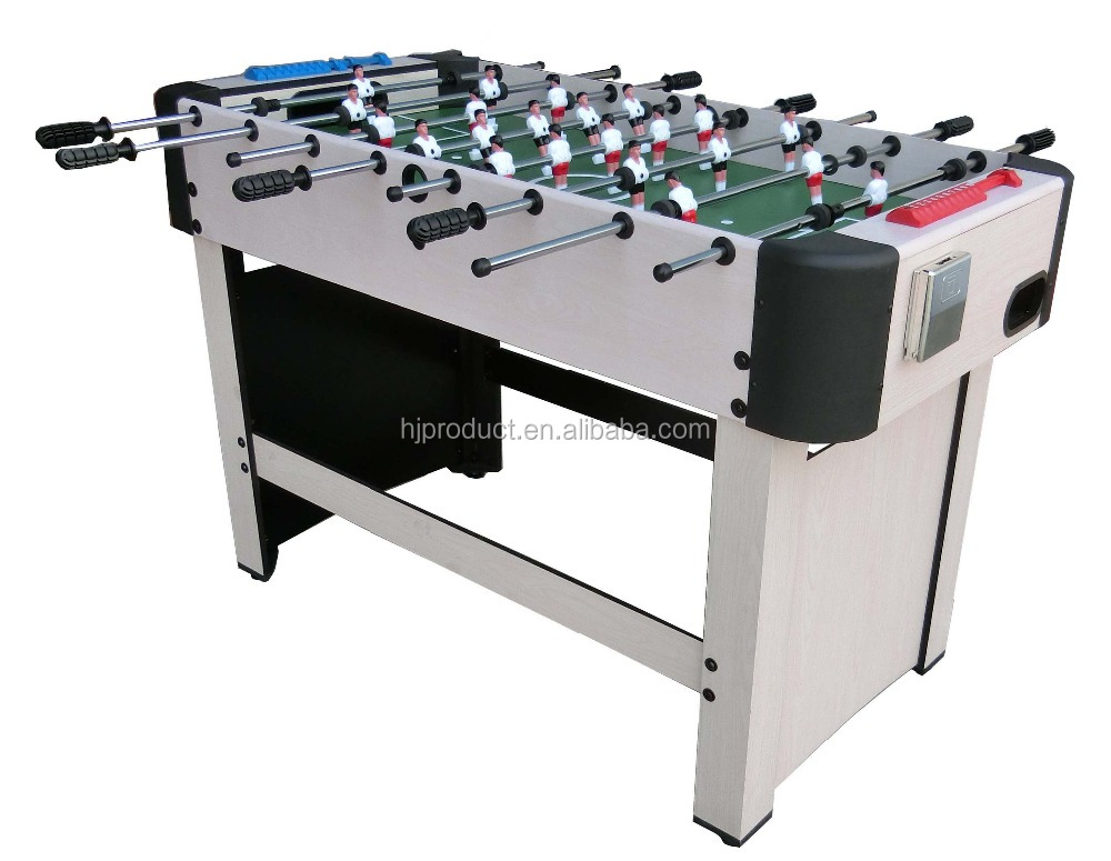 High quality hot selling 4' football table soccer table MDF foosball babyfoot game table for kids adults