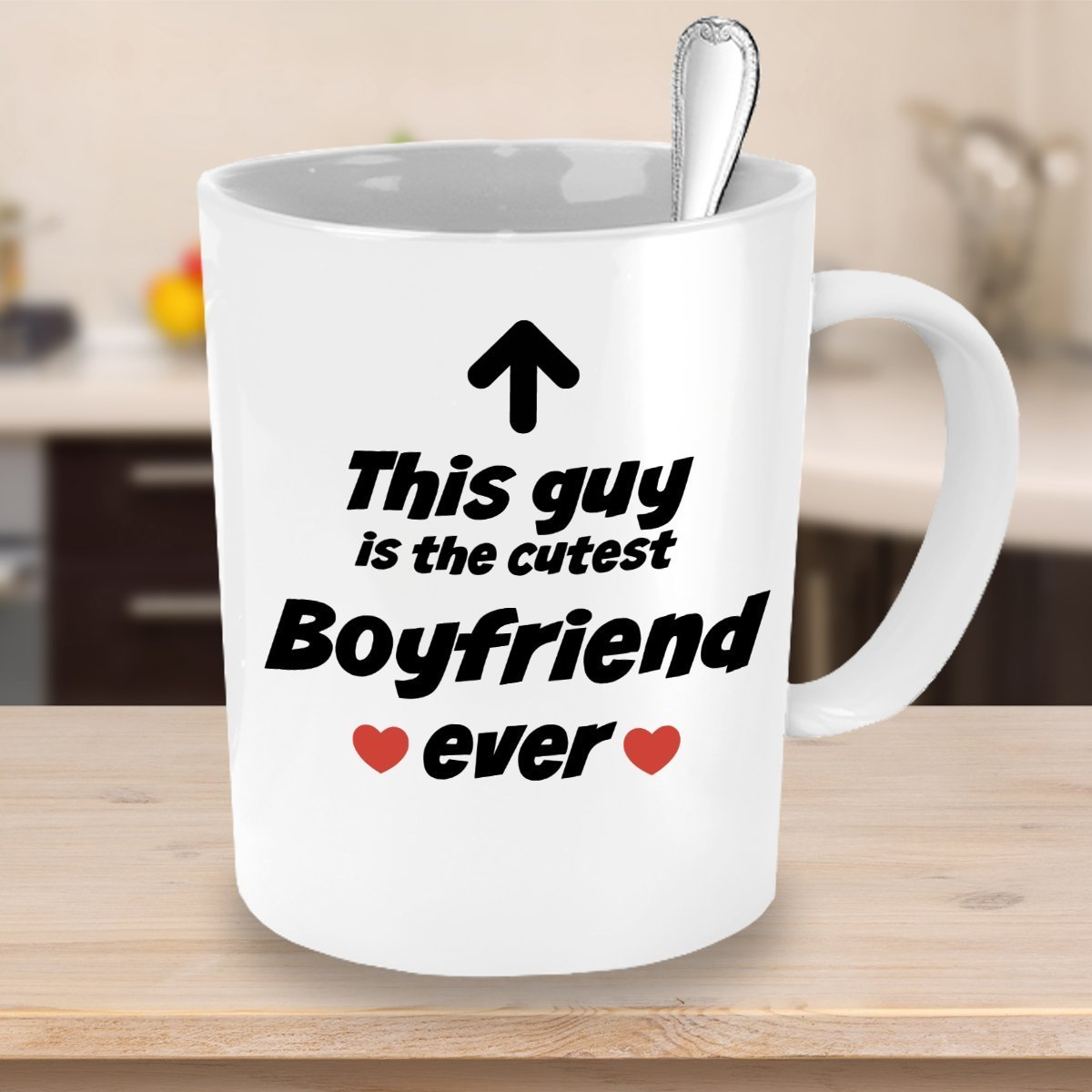 Buy Boyfriend Mug - Cutest Boyfriend Ever - Funny Coffee Mug ...