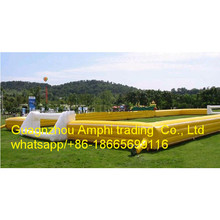 soap soccer/football court/field inflatable