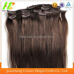 Factory cheap price hot sell good bra varieties of style curly Clip In brighton Hair Extension for variety color of n