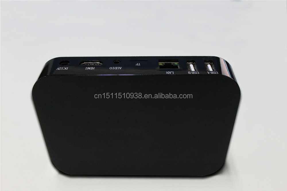 Newest design multimedia tv box for digital signage advertising from online market