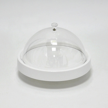 Medium Plastic Cake Serving Plate with Lid & Medium Plastic Cake Serving Plate With Lid - Buy Cake Serving Plate ...