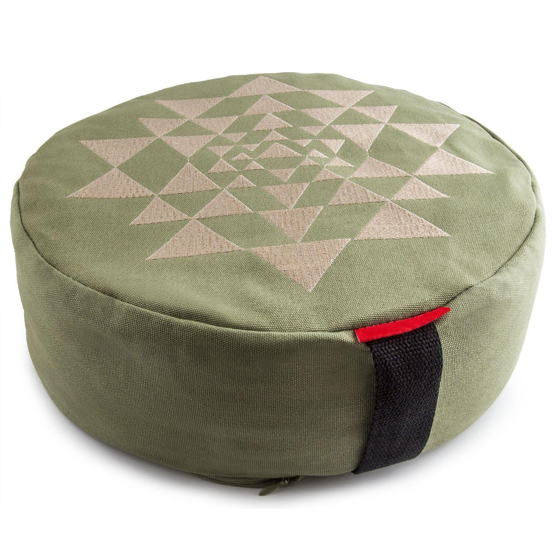 Hot Selling organic cotton zafu meditation cushions buckwheat meditation cushion