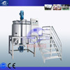 1000L Stainless steel cosmetic liquid 1000L Stainless steel chemical liquid shampoo mixing tank