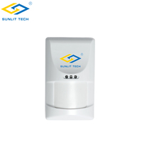 CE ROHS FCC Approved Smart Home PIR Motion Sensor Infrared Detector For Home Security System