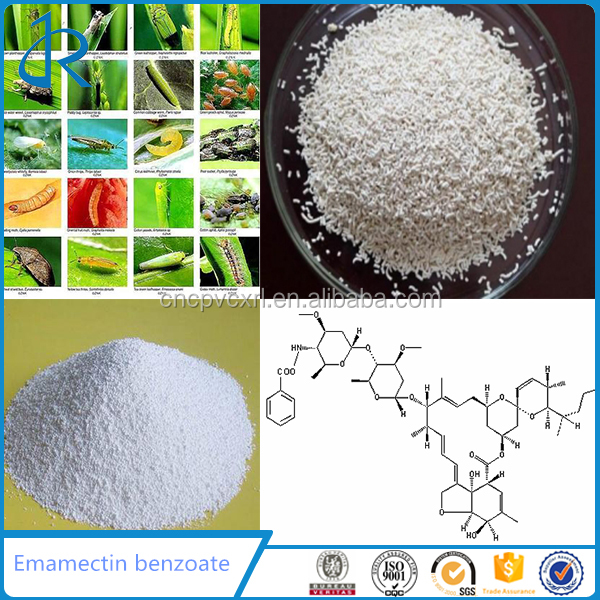 Factory supply Bioinsecticide 5% Emamectin benzoate for Tech Grade