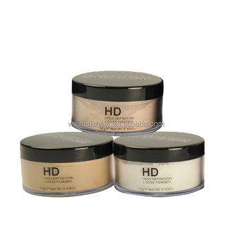 wholesale or OEM HD loose face powder makeup for your own brand waterproof OIL-CONTROL loose powder