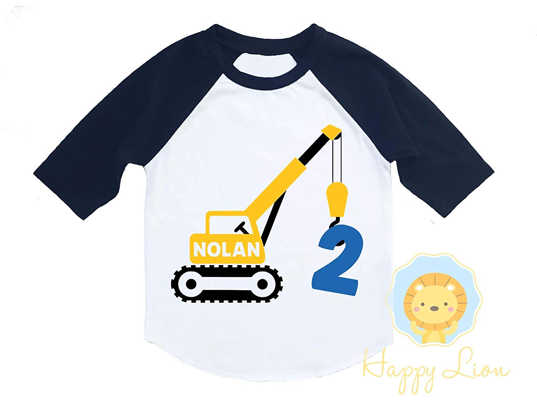 Buy Construction Party Birthday Shirt