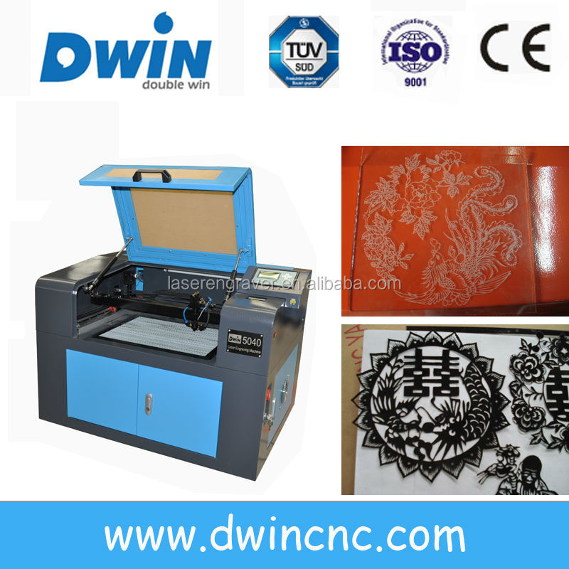 DW-5040 jinan dwin Low price +High quality co2 crafts laser engraving machine