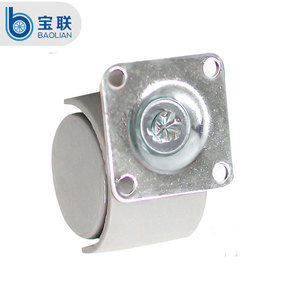 Caster Supplier furniture type 2 inch gray fishing hand caster and wheel
